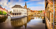 Bruges - The famous water canal