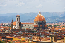 Florence - View from up high