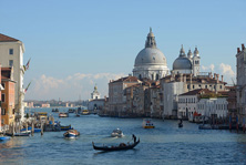 Venice- View of Cathedral from canal