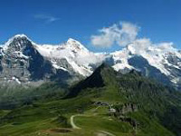 Jungfrau mountain-interlaken